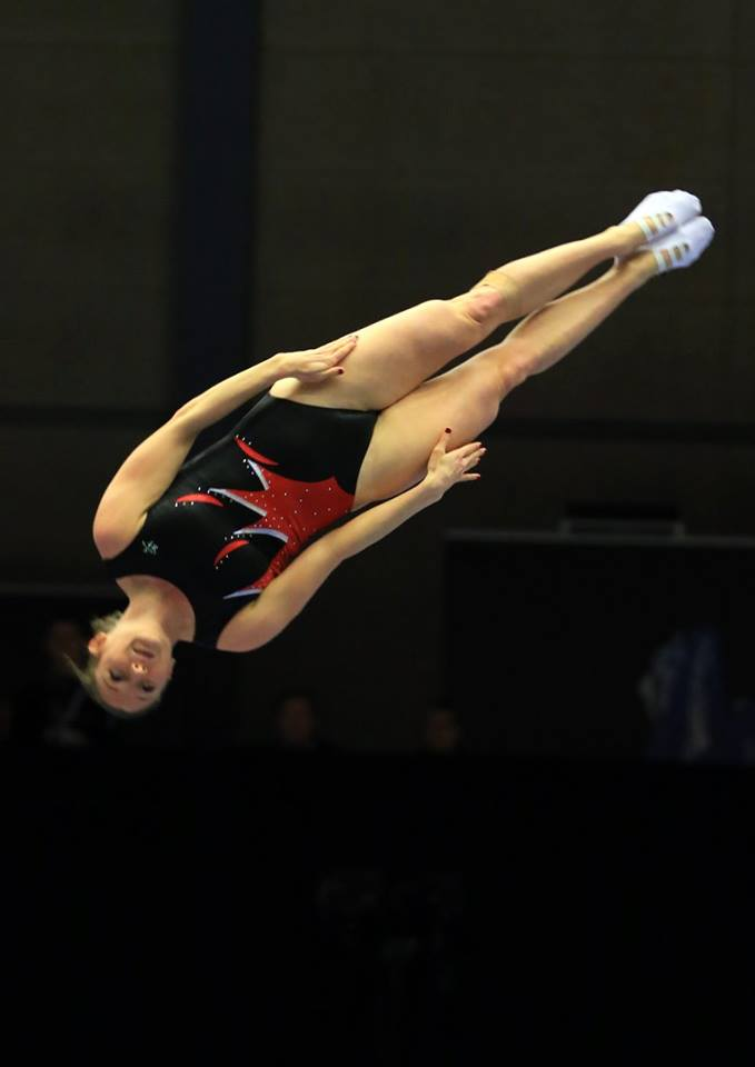 MacLennan leads Canada at Trampoline World Cup in Italy