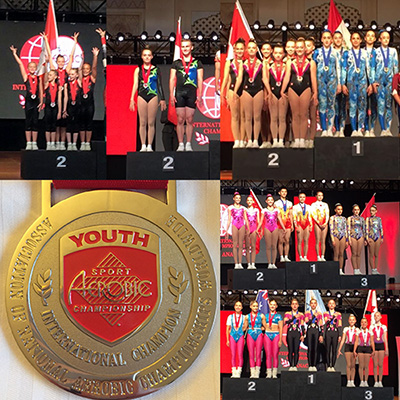 Canada collects five medals at International Aerobic Gymnastics Championships