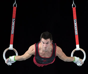 Clay in Position to Advance to All-Around Finals on Day 1 of Artistic Gymnastics World Championships In Montreal