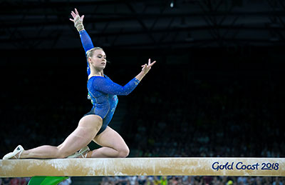 Ellie Black wins all-around gold at 2018 Commonwealth Games