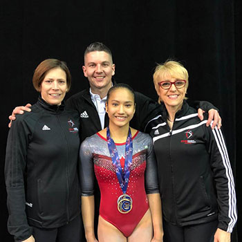 Canadian athletes capture seven medals in junior and senior apparatus finals at 2019 International Gymnix