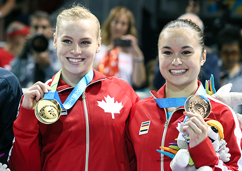 Ellie Black goes 5 for 5 at Pan Am Games – wins 2 more gold; Woo wins bronze, Lytwyn Silver on last day of artistic gymnastics action.