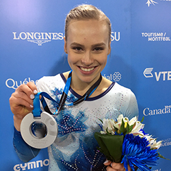 Ellie Black wins silver in the women's all-around at 2017 Artistic Gymnastics World Championships; Moors takes Longines Prize for Elegance