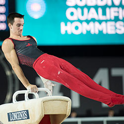 Clay finishes 21st in men's all-around competition at 2017 World Championships; Xiao of China takes gold.