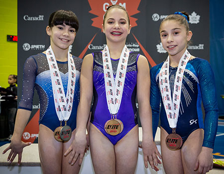 Groulx wins junior all-around title; Padurariu dominates apparatus finals on final day of Elite Canada competition