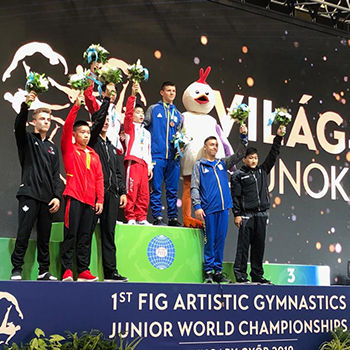 Canadian Junior Men's Artistic Gymnastics team finishes fifth at Junior World Championships; Dolci finishes 4th in all-around