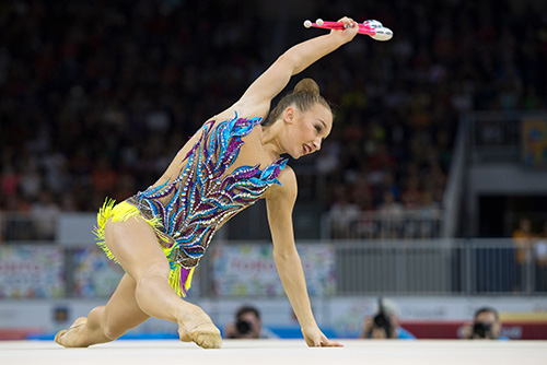Bezzoubenko's bid for rhythmic gymnastics berth in Rio comes to an end
