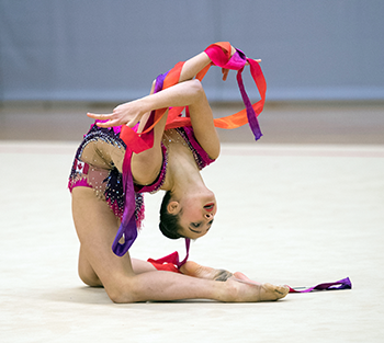 Crane and Garcia lead Senior and Junior competitions at 2018 Canadian Championships in Rhythmic Gymnastics
