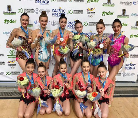 Two team silver medals highlight day two of 2018 Pacific Rim Gymnastics Championships