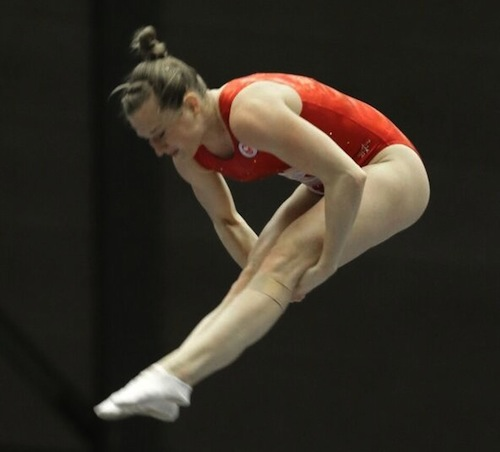 MacLennan clinches 2016 Olympic berth for Canada at 2015 Trampoline Gymnastics World Championships
