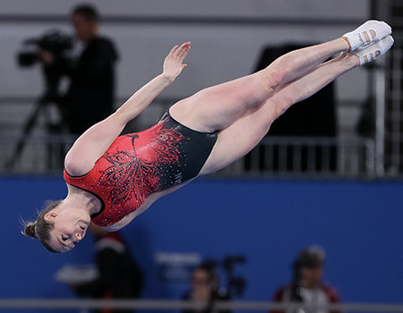 Canada qualifies for multiple finals on first day of competition at Trampoline Gymnastics World Championships