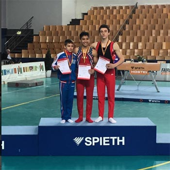 Bronze for Doan & Sandro at International Junior Team Cup in Berlin