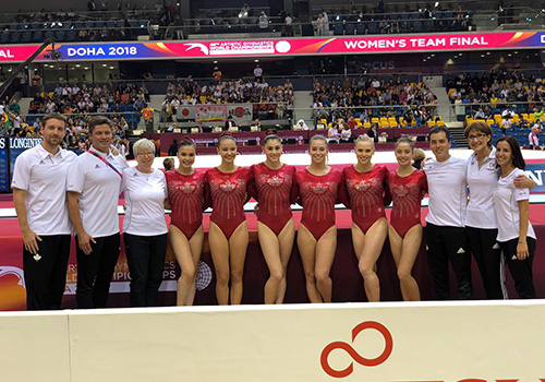 Canada finishes historic fourth in women's team finals at 2018 Artistic Gymnastics World Championships