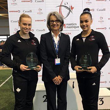 Black and Moors share Women's Artistic Gymnastics Athlete of the Year honours