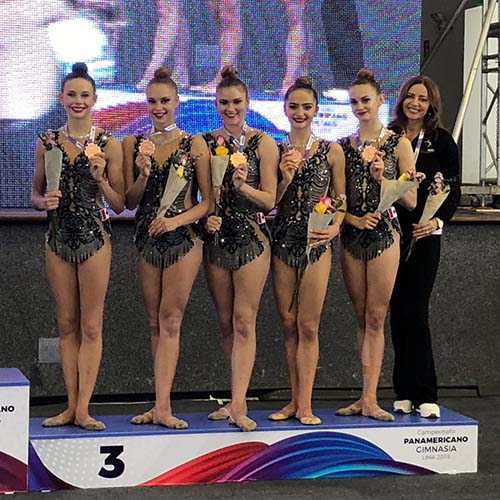 Canada captures two bronze medals to cap off rhythmic gymnastics Sr. Pan American Championships