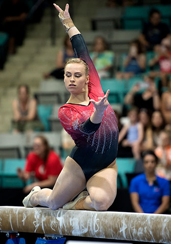Ellie Black captures fifth senior national all-around title at 2018 Canadian Championships in Artistic Gymnastics