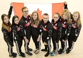 Canadian Gymnastics Team Nominated for Rio 2016