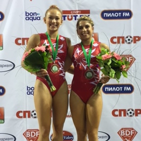 Bronze medal for Milette and Méthot at Minsk World Cup