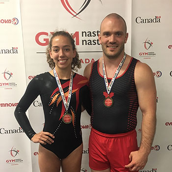 Schwaiger claims seventh consecutive Canadian tumbling title; Méthot & O'Brien named Athletes of the Year