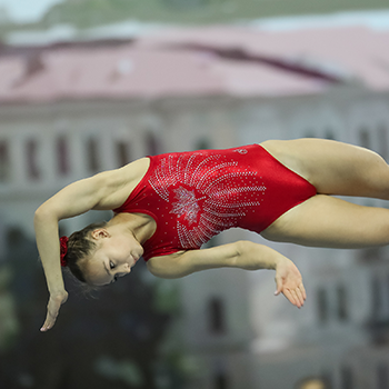 Milette wins third straight Senior Women's Elite Canada trampoline title