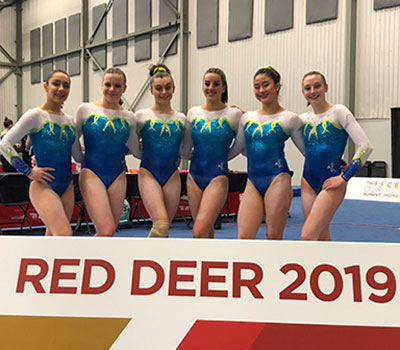 Team Quebec takes gold in women's artistic gymnastics team final at Canada Games