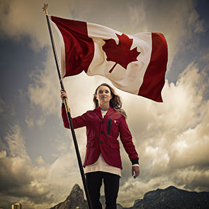 Rosie MacLennan named as Rio 2016 Team Canada Flag Bearer