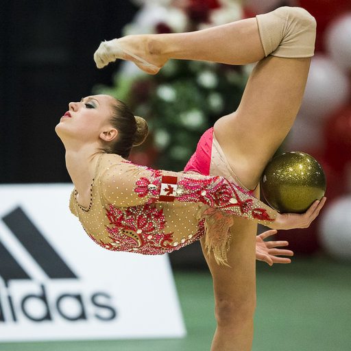 Whelan leads after day one at Canadian Championships in Rhythmic Gymnastics