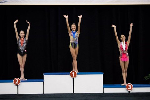 Four Medals for Canadian Rhythmic Gymnasts at the Pan American Championships