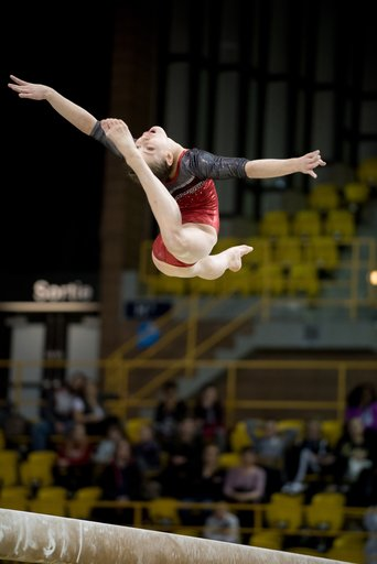 Canadian junior gymnasts gain valuable experience at 2017 International Gymnix