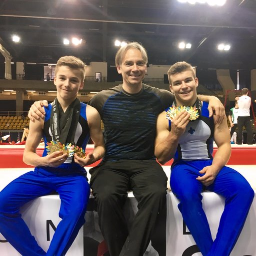 Champions crowned on the final day of the Canadian Championships in Artistic Gymnastics