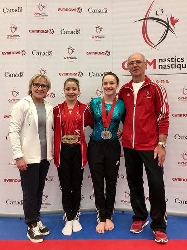 Padurariu sweeps junior podium at Elite Canada