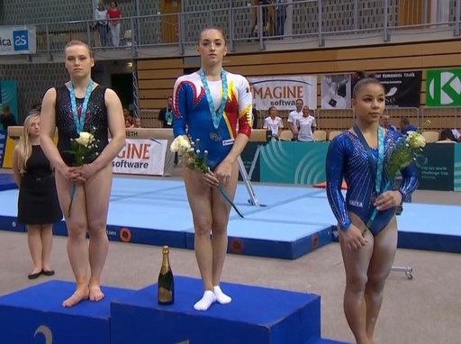 Triple silver for Ellie Black at Challenge Cup