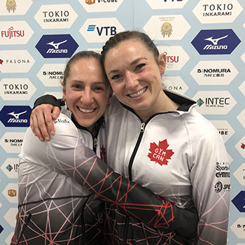 Canada secures Tokyo Olympic Games qualifying spot in women's trampoline at World Championships